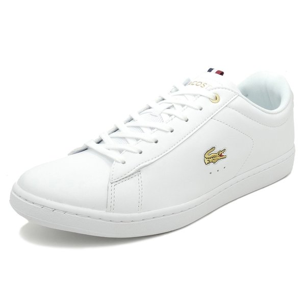 LACOSTE CARNABY EVO 118 3【ラコステ カーナビーエヴォ118 3】WHT white(ホワイト)SM0006L-21G 18SS|mexico