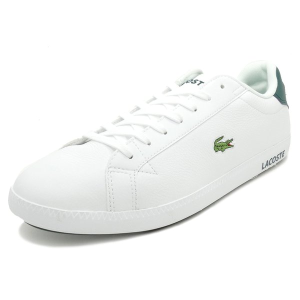 LACOSTE GRADUATE LCR3 118 1【ラコステ グラデュエイトLCR3 118 1】WHT/DK GRN white/dark green(ホワイト/ダークグリーン)SPM0013-1R5 18SS|mexico
