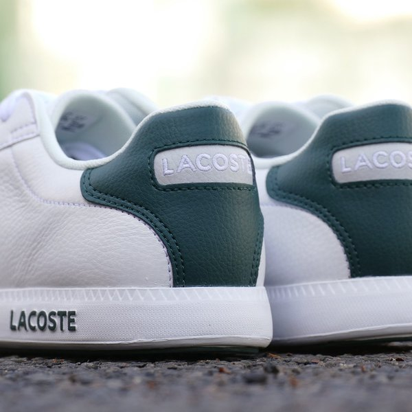 LACOSTE GRADUATE LCR3 118 1【ラコステ グラデュエイトLCR3 118 1】WHT/DK GRN white/dark green(ホワイト/ダークグリーン)SPM0013-1R5 18SS|mexico|06