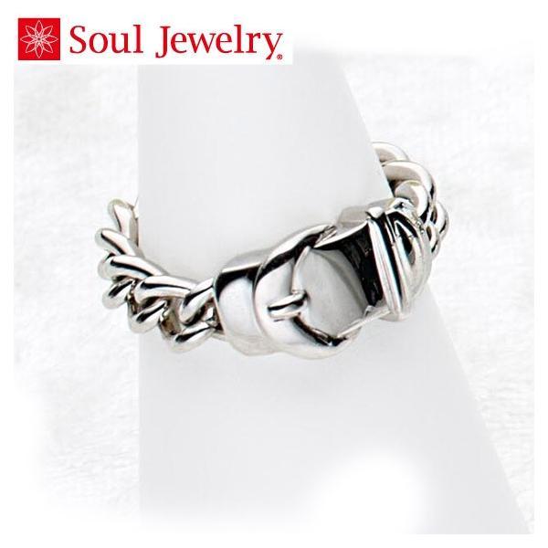 遺骨アクセサリー Soul Jewelry チェーンリング サンテュール 遺骨を納めて身につけられる指輪 (2209002460)[チェーンリング]  シルバー925