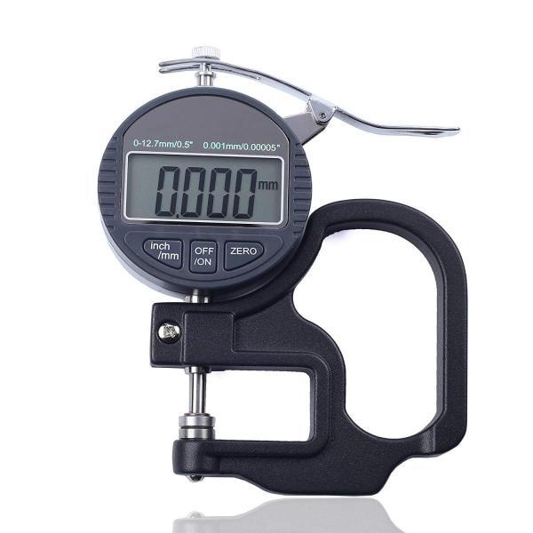 J&T 測定器 デジタルシックネスゲージ デジタル厚さ測定器 精度0.001mm 測定範囲0〜10mm 解像度0.001mm/0.00005 高精度厚み測定器 JT-49-012|mgshop0401