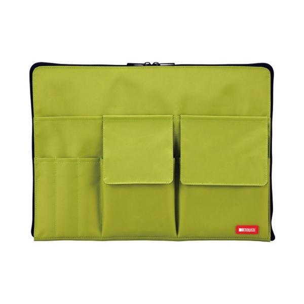 バックインバックA4A7554-6黄緑