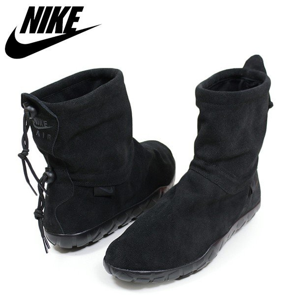 check out 10257 42a30 NIKE ナイキ AIR CHUKKA MOC ULTRA メンズ スニーカー BLACK チャッカモック ブラック スエード 本革 レザー  スリッポン シューズ 靴 送料無料 ACG AH7915-001