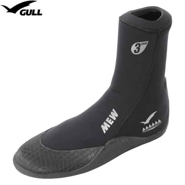 [ GULL ] ガル GA-5621 3mm MEW BOOTS II 3mmミューブーツ2 (ソックスタイプ)