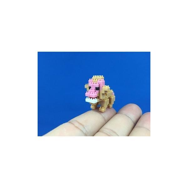 世界最小級の組み立てブロックミクブロ2 ニホンザル|micblo2