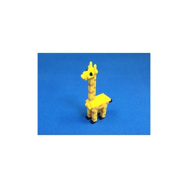 世界最小級の組み立てブロックミクブロ2 「キリン」|micblo2