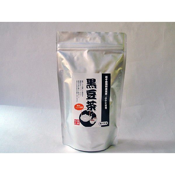 黒豆茶(5g×30包)/岩手県遠野産「黒豆」使用 michinoku-farm 02