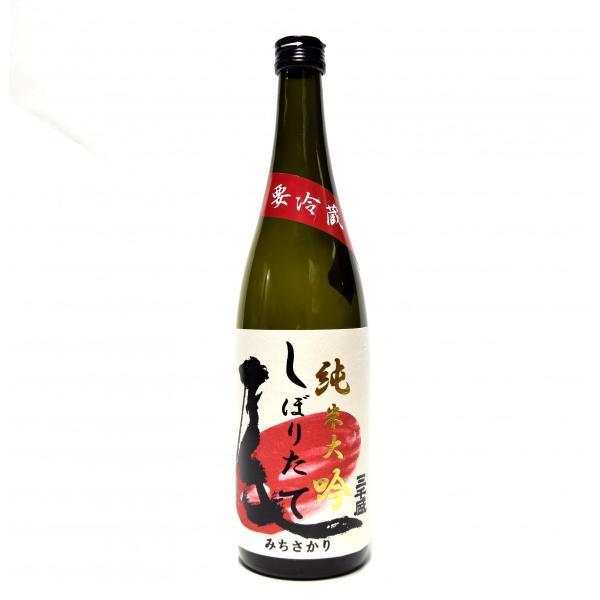 三千盛 純米大吟しぼりたて 純米大吟醸生酒 720ml 【要冷蔵】|michisakari