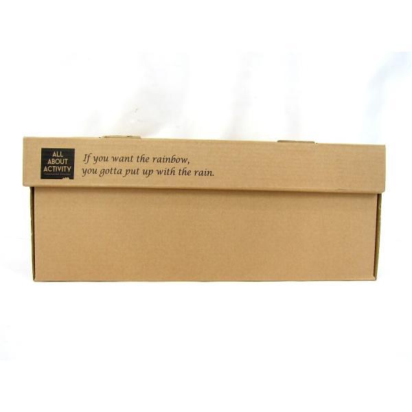 未使用品 トイモック ALL ABOUT ACTIVITY MOR-3-04 ブラウン×ロイヤルタータンチェック パッカブル レインブーツ 24.5cm 『全国』