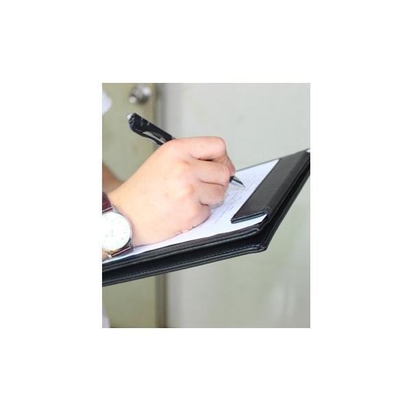 クリップボード 高級PUレザー会議パッド デスクパッド A4書類フォルダー オフィス用品 バインダー 署名フォルダー おしゃれ クリップファ micomema 05