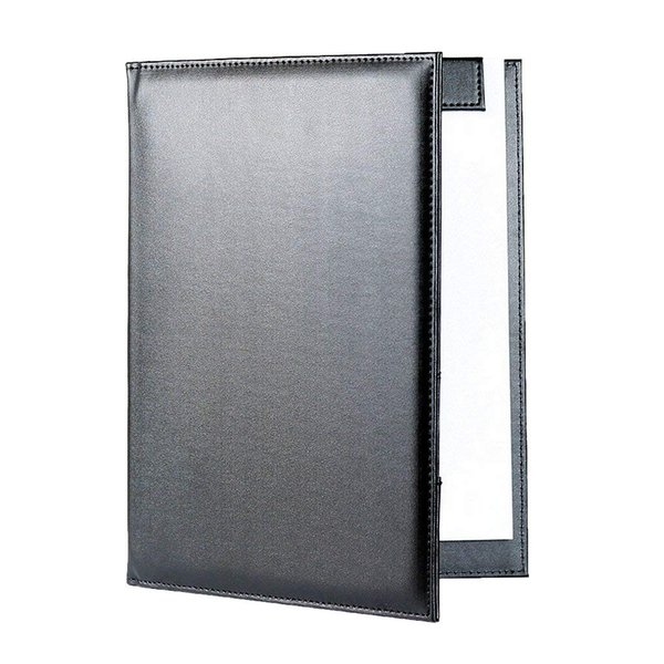 クリップボード 高級PUレザー会議パッド デスクパッド A4書類フォルダー オフィス用品 バインダー 署名フォルダー おしゃれ クリップファ micomema 06