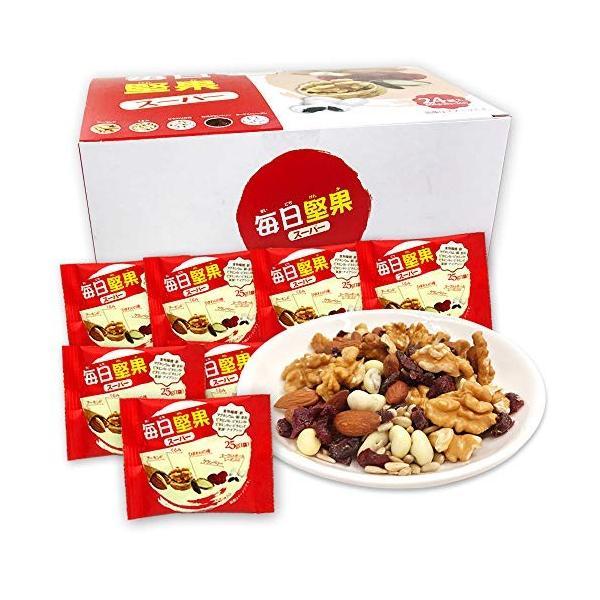 ミックスナッツ 毎日堅果スーパー(25g×28袋) スーパーフードをミックス (アーモンドくるみひまわりの種 クランベリー ヨーグルトレーズ|micomema|02