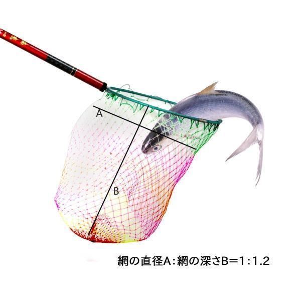 玉網 折畳み式 サンライク(SANLIKE)タモ網 アルミ枠 コンパクト ランディングフレーム 釣りネット 山釣り 船釣り 渓流 ランディン|micomema|05