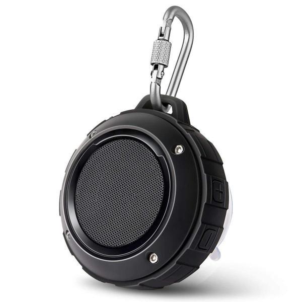 Bluetooth スピーカー Lenrue F4 ミニワイヤレススピーカー IP45 防水&防塵認証 マイク内蔵 高音質 アウトドアスピー
