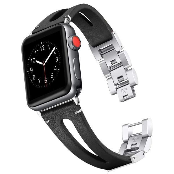 Apple Watch バンド/Apple Watch 4レザー バンド,Wearlizer アップルウォッチ iwatch,apple w micomema 04