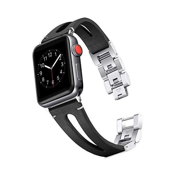 Apple Watch バンド/Apple Watch 4レザー バンド,Wearlizer アップルウォッチ iwatch,apple w micomema 07