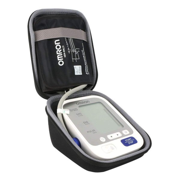 オムロン Omron 電子血圧計 上腕式 腕帯巻きつけタイプ HEM-7130 HEM-7131 対応収納ケース -co2CREA|micomema