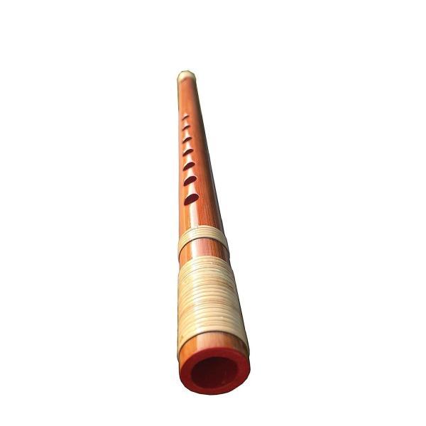 聞琳竹細工屋(BENLENTAKIZAYIKUYA) お祭り・お囃子用 篠笛 入門用 和楽器 籐巻 (7穴6本調子) micomema