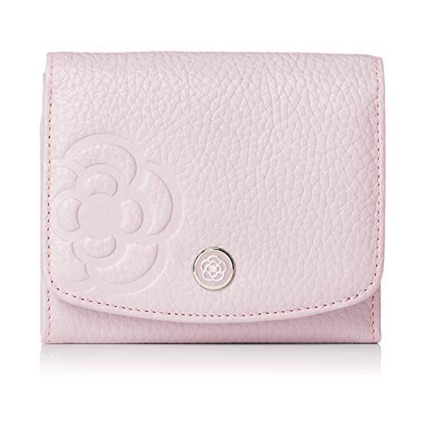 クレイサス 折り財布二つ折り財布ラデュレII187972(ライトピンクFreeSize)