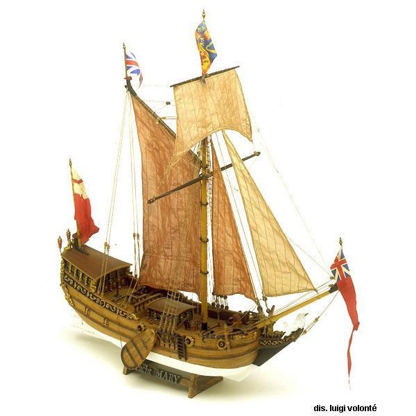 帆船模型キット ヨットマリー