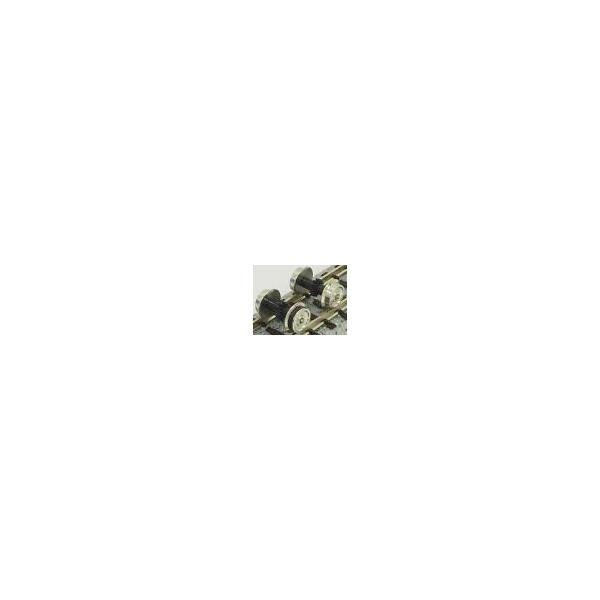 動力台車用車輪(コアレス動力対応)(銀) 【グリーンマックス・8639G】