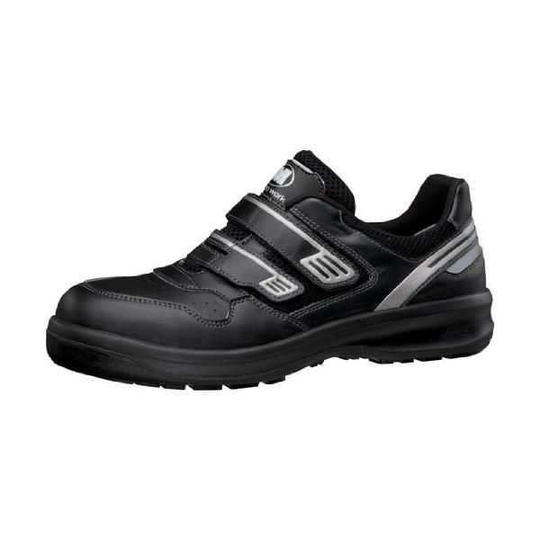 安全靴 ミドリ安全 メンズ レディース ワイド樹脂先芯 メッシュ スニーカー マジック G3695 ブラック ローカット 通気性 蒸れない