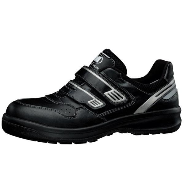 安全靴 ミドリ安全 メンズ レディース ワイド樹脂先芯 メッシュ スニーカー マジック G3695 ブラック 小 ローカット 通気性 蒸れない 日本製