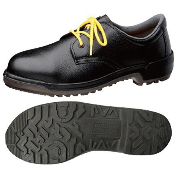 ミドリ安全 静電安全靴 MZ010J静電 ブラック 紳士靴タイプ 作業 工事 現場 建設 建築 土木 コスパ 人気商品 ベストセラー