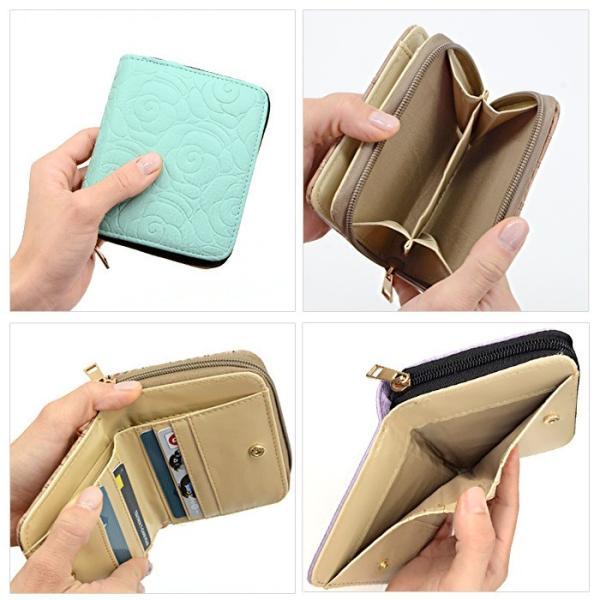 アウトレット 財布 レディース 二つ折り サイフ 二つ折り財布 ar-FOm メール便送料無料|midoriya|15
