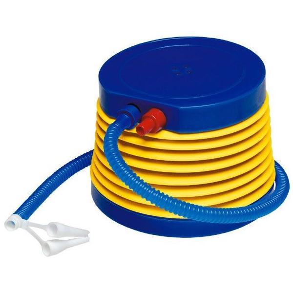 ポンプ 空気入れ 7インチ ポンプ 手動 エアポンプ エアーポンプ 足ふみ 屋外 プール 浮き輪 水遊び 注入 排出 TPP-007 ig-0338 あすつく