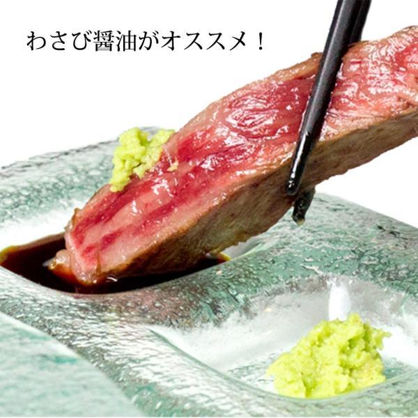 ステーキ A5 松阪牛 牛肉 サーロイン ステーキ 200g×1枚 送料無料  グルメ ギフト 内祝 お返し #元気いただきますプロジェクト(和牛肉)|mie-matsuyoshi|06