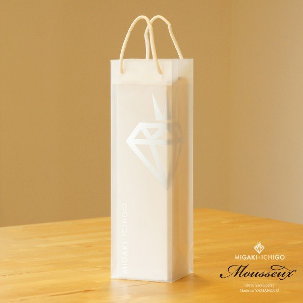 ワインバッグ 手提げ袋 ギフトバッグ 1枚|migaki-ichigo|02