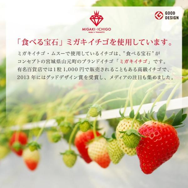 イチゴ スパークリングワイン ミガキイチゴ・ムスー 化粧箱入り|migaki-ichigo|06