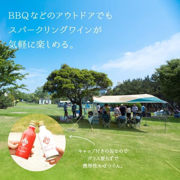 イチゴ スパークリング 缶ワイン ミガキイチゴ・カネット 4本セット|migaki-ichigo|06