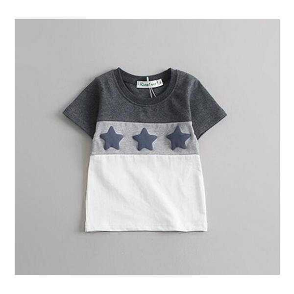【在庫処分・短納期】Tシャツ 家族服 トップス 親子服 ペアルック カップル 半袖 お揃い ご夫婦 ペア 親子服 お兄弟 姉妹 星柄 子供服|mignon-shop|04