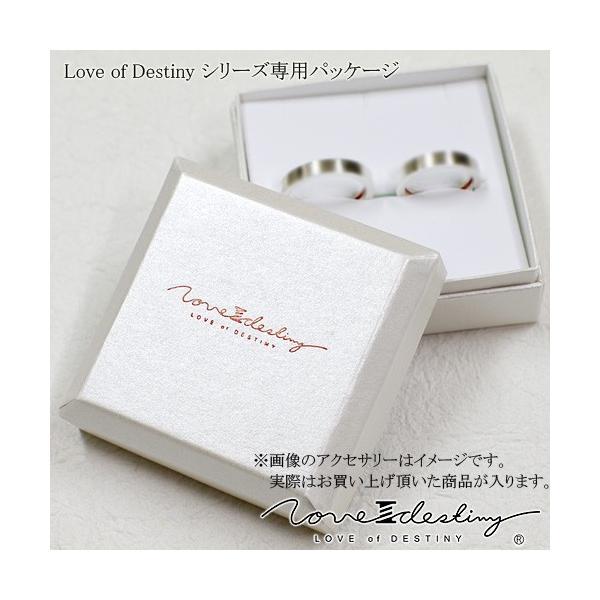 Love of Destiny ローマ数字リングVOL.1 ペアネックレスLOD-039M039L(2本セット)送料無料