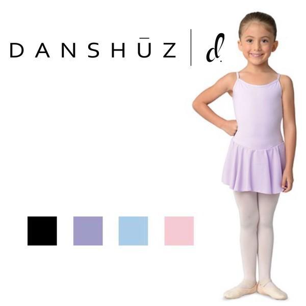 バレエ レオタード 子供 キャミ スカート付 DANZNMOTION|mignonballet