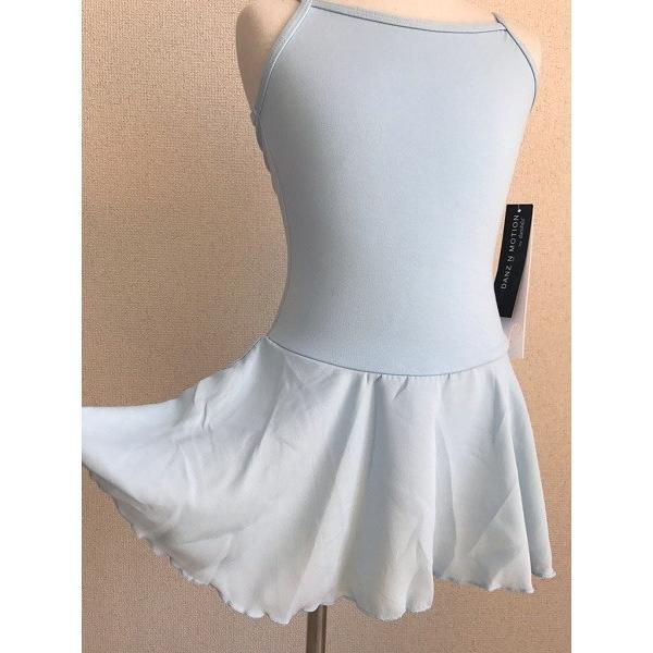 バレエ レオタード 子供 キャミ スカート付 DANZNMOTION|mignonballet|04