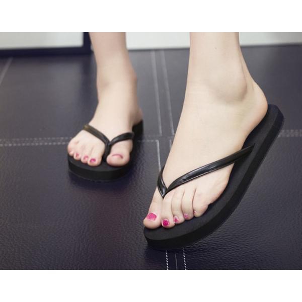 サンダル レディース ビーチサンダル フラット シンプル カジュアル 靴 シューズ