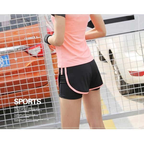 単品 ショートパンツ ロングパンツ レギンス付きパンツ レディース ボトムス フィットネスウェア スポーツウェア トレーニングウェア 半ズボン 長ズボ|mignonlindo|05