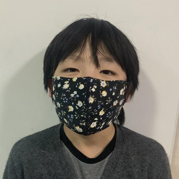 マスク 3D 立体型 洗える 5枚セット UVカット 大人用 子供用 レディース メンズ 黒 白 ブラック ホワイト 繰り返し使える S M L 女性 mignonlindo 11