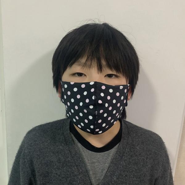 マスク 3D 立体型 洗える 5枚セット UVカット 大人用 子供用 レディース メンズ 黒 白 ブラック ホワイト 繰り返し使える S M L 女性 mignonlindo 13