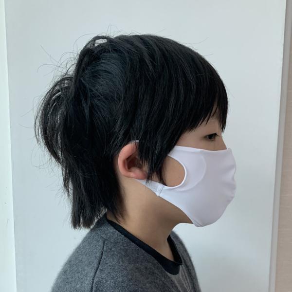マスク 3D 立体型 洗える 5枚セット UVカット 大人用 子供用 レディース メンズ 黒 白 ブラック ホワイト 繰り返し使える S M L 女性 mignonlindo 07