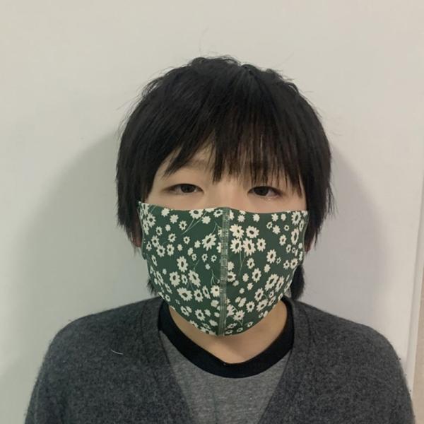 マスク 3D 立体型 洗える 5枚セット UVカット 大人用 子供用 レディース メンズ 黒 白 ブラック ホワイト 繰り返し使える S M L 女性 mignonlindo 08