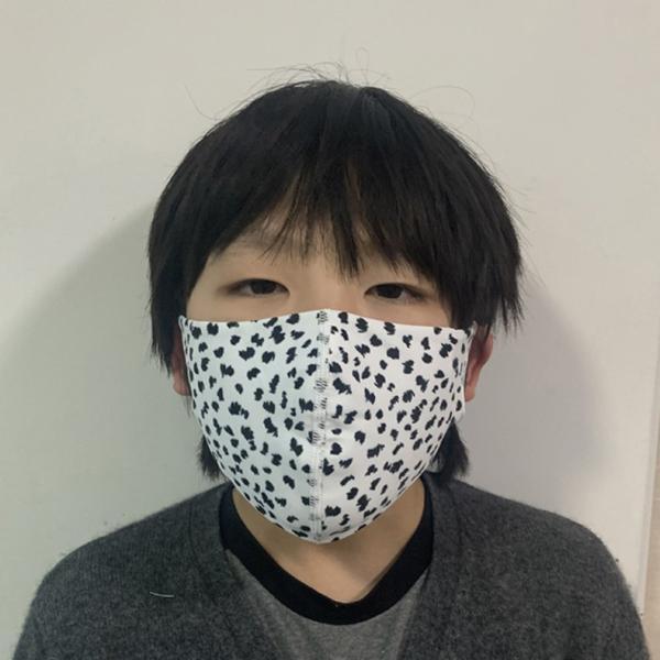 マスク 3D 立体型 洗える 5枚セット UVカット 大人用 子供用 レディース メンズ 黒 白 ブラック ホワイト 繰り返し使える S M L 女性 mignonlindo 09