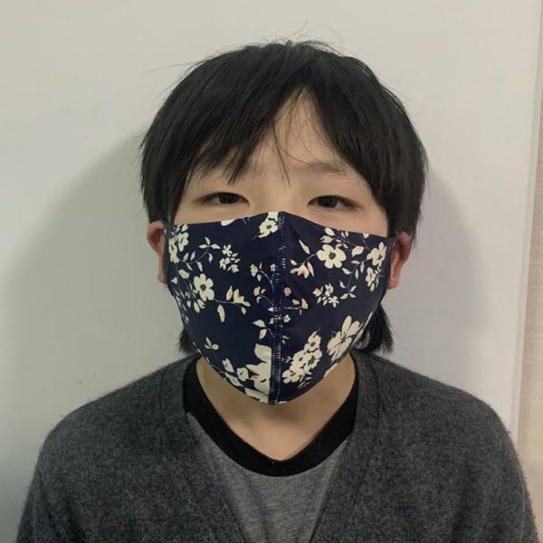 マスク 3D 立体型 洗える 5枚セット UVカット 大人用 子供用 レディース メンズ 黒 白 ブラック ホワイト 繰り返し使える S M L 女性 mignonlindo 10
