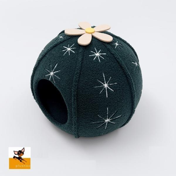 ネコ用ベッド ネコ用 ペット用品 ペットグッズ ハウス キャット 球 サボテン 花 ボール 洞窟タイプ 防水加工 柔らかい シンプル ふわふわ かわい