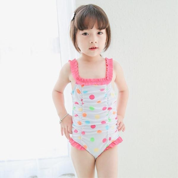 水着 キッズ ジュニア 女の子 子供 ワンピース かわいい 動きやすい スイムウェア おしゃれ 着替え楽 プール 海 水遊び