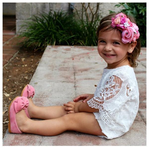 ロンパース ベビー 赤ちゃん 新生児 女の子 クルーネック 半袖 レース 透け感 無地 かわいい ベビー服 おしゃれ 60cm 70cm 80cm 9|mignonlindo|12