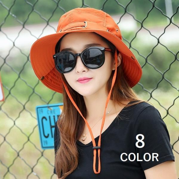 帽子 サファリハット アウトドアハット シンプル 無地 レディースファッション 2way かわいい おしゃれ 日焼け防止 日よけ カジュアル 旅行 登|mignonlindo